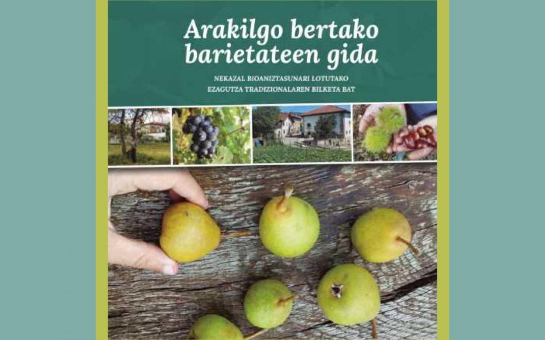 Presentación de la guía de variedades locales de Arakil
